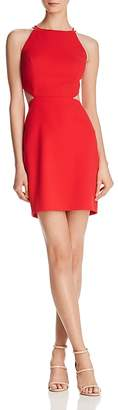 Aidan Mattox Scuba Crepe Cutout Dress - 100% Exclusive