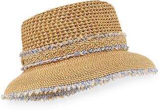 Eric Javits Lulu Woven Squishee Bucket Hat
