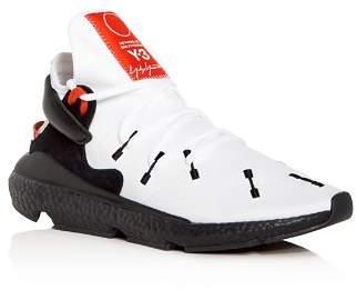 Y-3 Men's Kusari II Neoprene Lace Up Sneakers