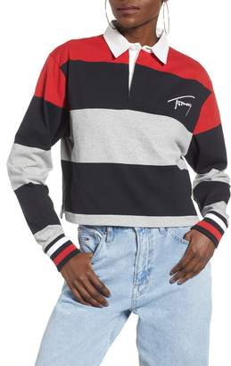 Tommy Jeans Crop Polo