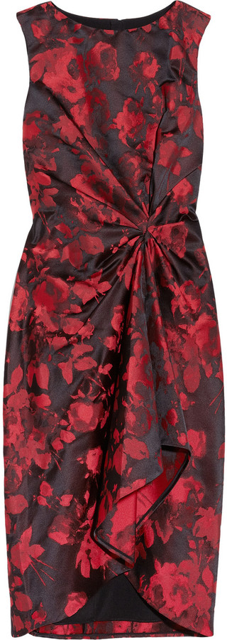 Jason Wu Wonka floral satin-brocade dress