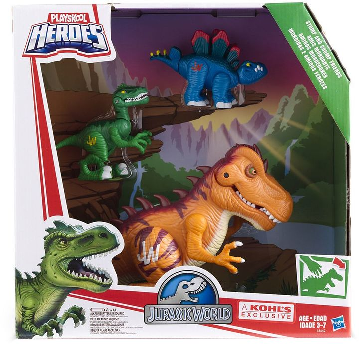 Playskool Heroes 3-pc. Jurassic World Stomp & Chomp Friends Set