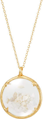 Catherine Weitzman Shaker Birthstone Pendant Necklace, June