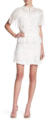 Few Moda Deandra Sheer Cutout Lace Dress