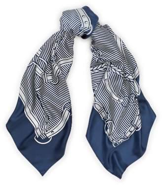 Ralph Lauren Bridle-Print Silk Twill Scarf