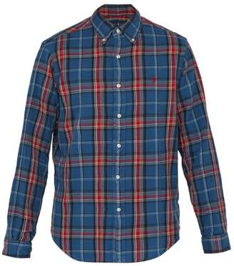Polo Ralph Lauren Checked Cotton Shirt - Mens - Blue Multi