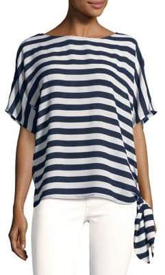 MICHAEL Michael Kors Graphic Striped Tee