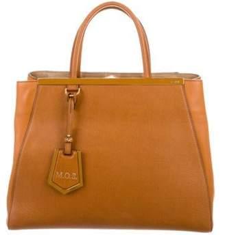 Fendi Leather 2Jours Bag Cognac Leather 2Jours Bag