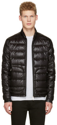 Moncler Black Down Acorus Jacket $745 thestylecure.com