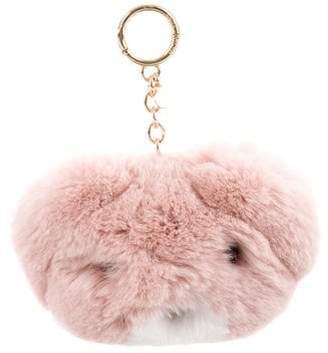 Michael Kors Fur Bear Keychain