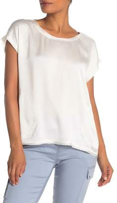 Go Silk Go by Raw Luxe Silk Pocket Blouse