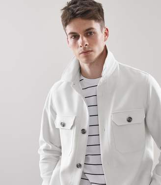 Reiss Comasco Casual Button Through Jacket