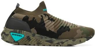 Diesel camouflage slip-on sneakers
