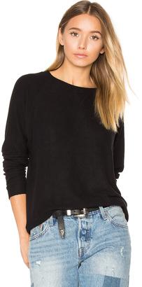 Nation LTD Hacci Raglan Sweatshirt $103 thestylecure.com
