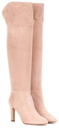 Gabriela Hearst Linda suede over-the-knee boots