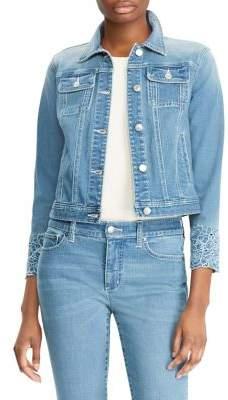 Lauren Ralph Lauren Embroidered Denim Jacket