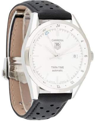 Tag Heuer Carrera Twin-Time Automatic Watch