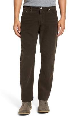 AG Jeans Graduate Tailored Straight Leg Corduroy Pants