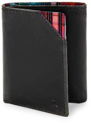 Robert Graham Men's Derby Leather Tri-Fold Wallet