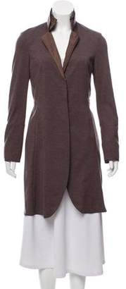 Brunello Cucinelli Cashmere-Blend Long Line Cardigan