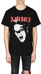 Amiri Men's Cotton T-Shirt-Black