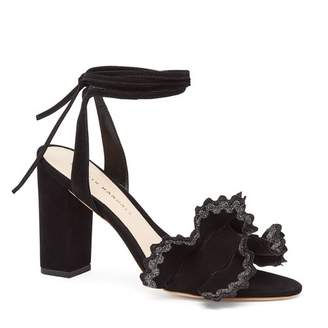 Loeffler Randall Dot Ankle-Tie High Heel Sandal