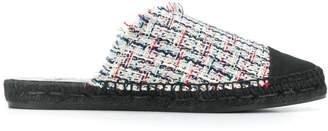 Castaner Raisa tweed slippers