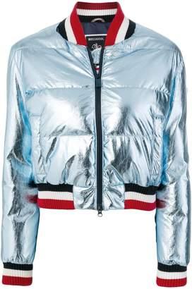 Rossignol metallic down bomber jacket