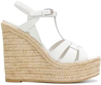 Saint Laurent Espadrille T-Strap Wedge sandals