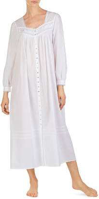 c99e76bb43 Eileen West Cotton Button Front Nightgown