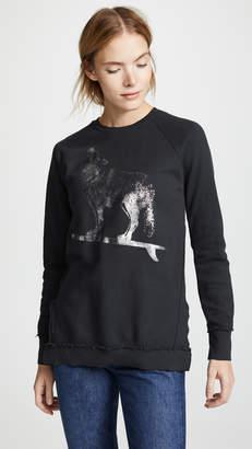 Sol Angeles Raw Wolf Rider Tunic Sweater