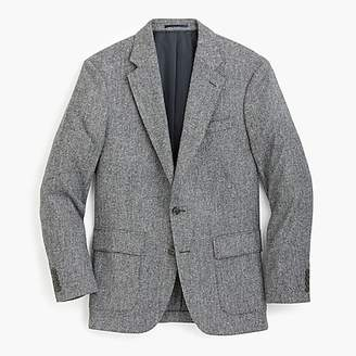 J.Crew Ludlow Classic-fit tweed patch and flap-pocket blazer