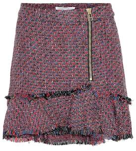 Veronica Beard Madra tweed miniskirt