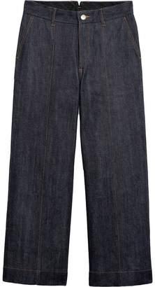 MACKINTOSH Dark Indigo Wide Leg Denim Jeans D-WP011