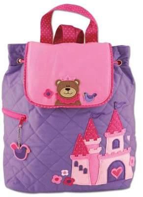 Stephen Joseph Toddler Backpacks, Kids Backpacks, Childrens Quilted Backpack - Princess Bear