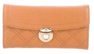 Marc Jacobs Marc by Textured Leather Trifold Wallet