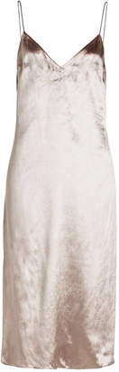 Rag & Bone Parker Velvet Dress with Silk