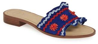 1901 Faine Ruffle Slide Sandal (Women)