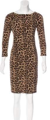 MICHAEL Michael Kors Leopard Print Mini Dress