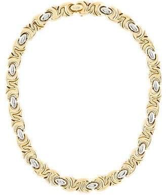 Bvlgari Two-Tone Collar Necklace