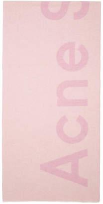 Acne Studios SSENSE Exclusive Pink Toronty Scarf