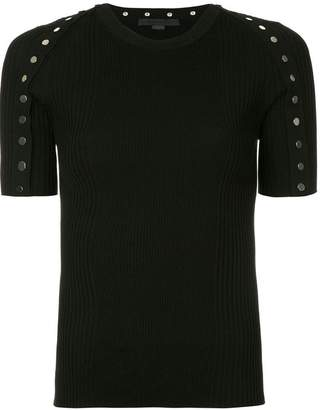 Alexander Wang studded knitted top