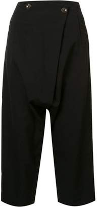 Song For The Mute cropped trousers
