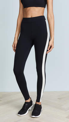 Yummie by Heather Thomson Tuxedo Stripe Ankle Leggings