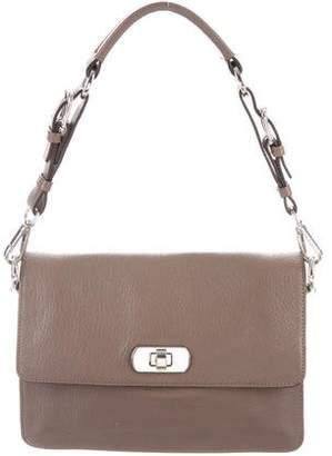 Marni Grain Leather Handle Bag