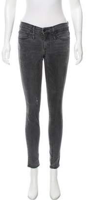 Calvin Rucker Mid-Rise Skinny Jeans