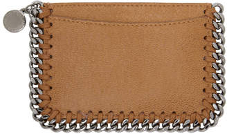 Stella McCartney Tan Falabella Card Holder