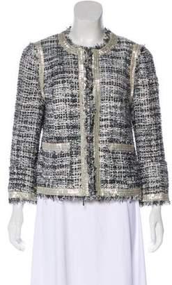 Tory Burch Embellished Tweed Blazer