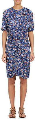 Isabel Marant Women's Rehora Silk Dress $760 thestylecure.com
