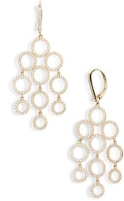 Nordstrom Cubic Zirconia Chandelier Earrings
